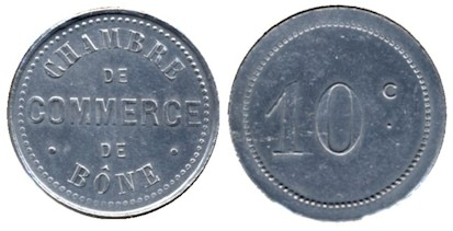 Bone (Algeria) 10 Centimes (No Date)