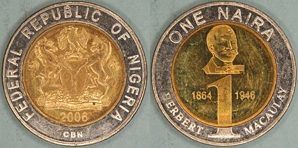 Africa Coins Of Nigeria
